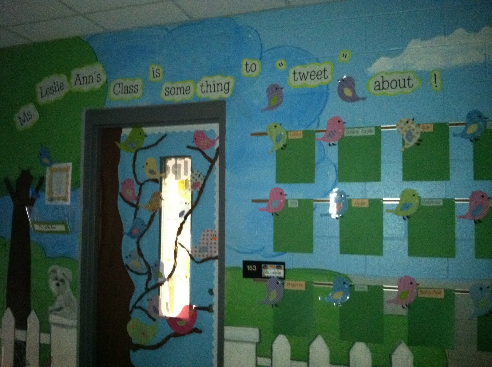 Life in First Grade: Classroom Decorating: Day Twelve