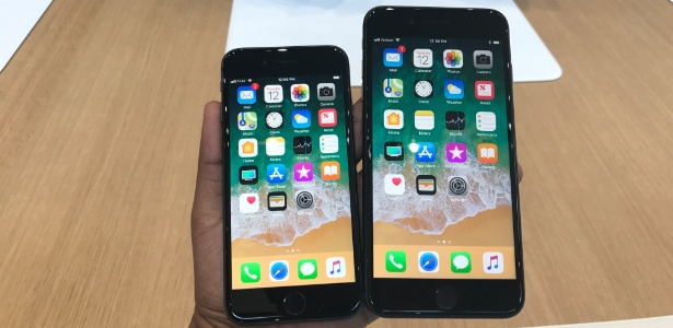 iPhones nas lojas Apple