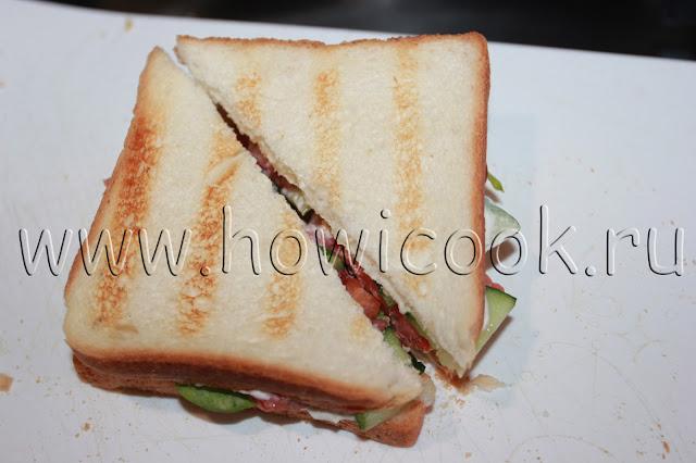 рецепт сэндвича с семгой с пошаговыми фото