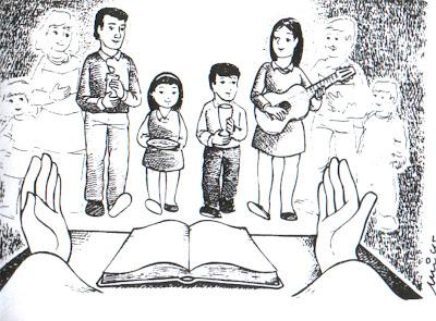 Resultado de imagen de misa familia