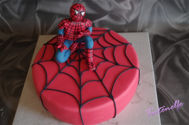 Tortenelfes Blog Backe Backe Kuchen Spiderman Motivtorte