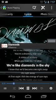 Aplikasi Android Pemutar Musik Dengan Menampilkan Lirik lagu