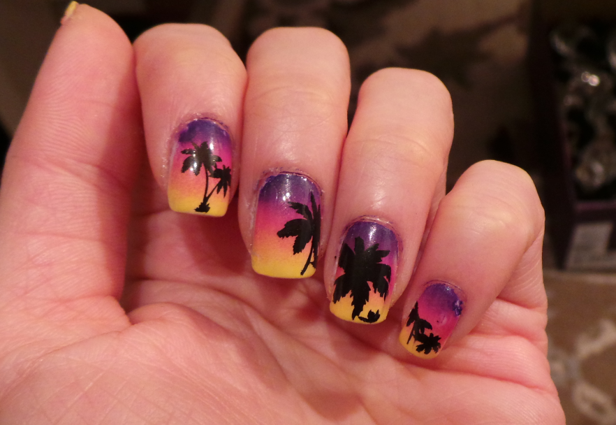 CANVAS lacquer: Tropical Vacation, Nails of the Day