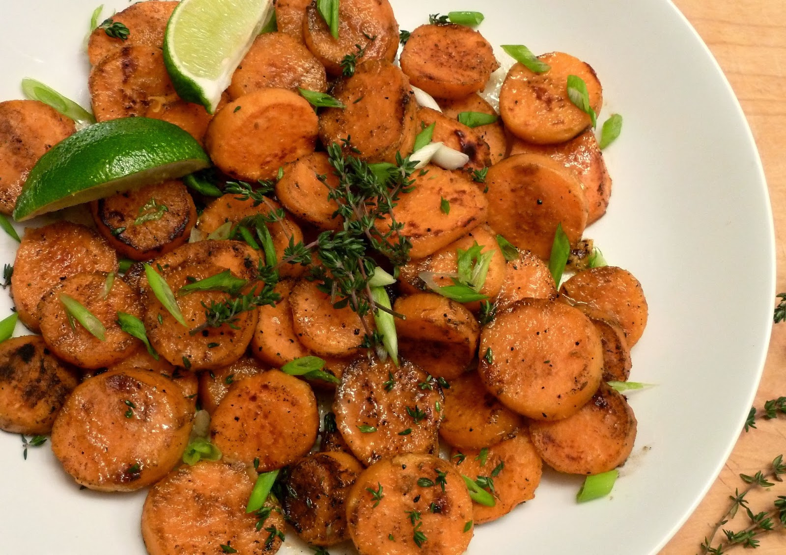 Cracked Pepper: Grilled Sweet Potatoes