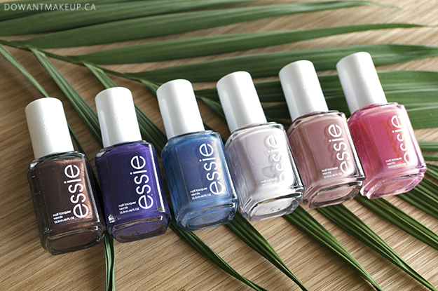 Essie Desert Mirage swatches