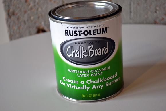 Rustoleum Chalkboard Paint Black