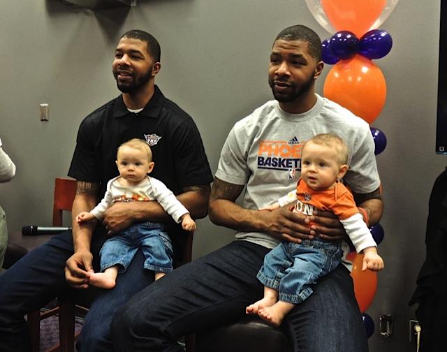 Twins Phoenix Suns Players