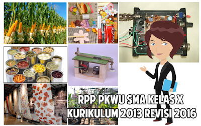 Download RPP PKWU SMA Kurikulum 2013 Kelas X Revisi 2016