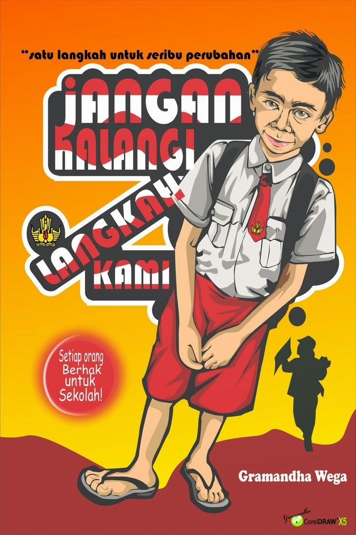 5 Contoh Poster Pendidikan Yang Umum Digunakan | Tato Dan ...