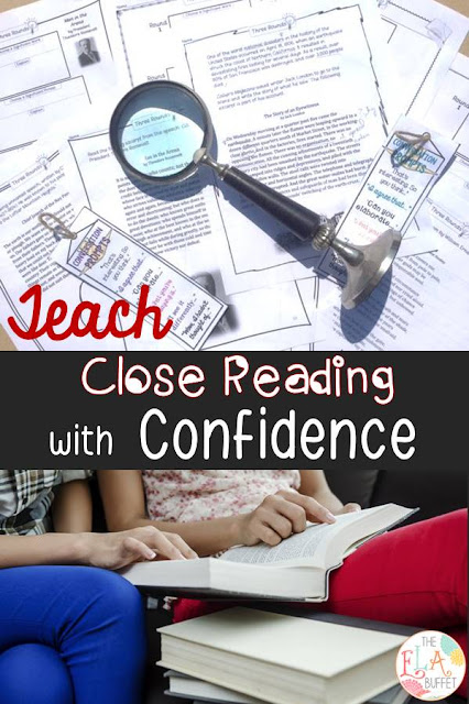 Close Reading Strategy: Three Rounds gives students a purpose for re-reading a text. They will learn a strategy for finding the central idea of ANY piece.