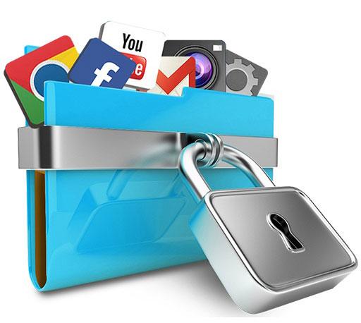 شرح حماية البرامج والملفات بكلمة مرور بدون برامج