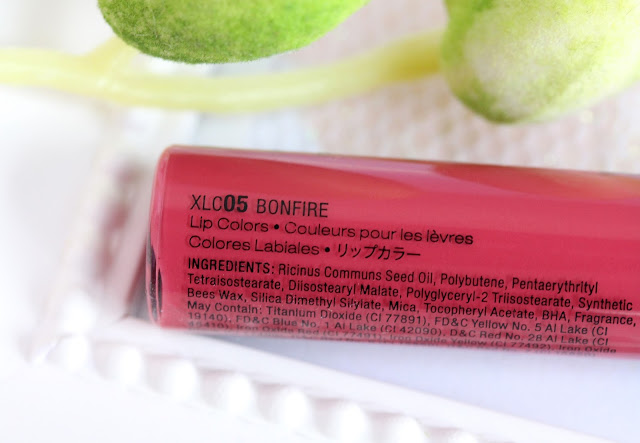 NYX Xtreme Lip Cream in Bonfire / Review and Swatches ...