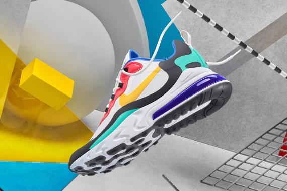 RUNNING WITH PASSION: Nike Air Max 270 React Available in