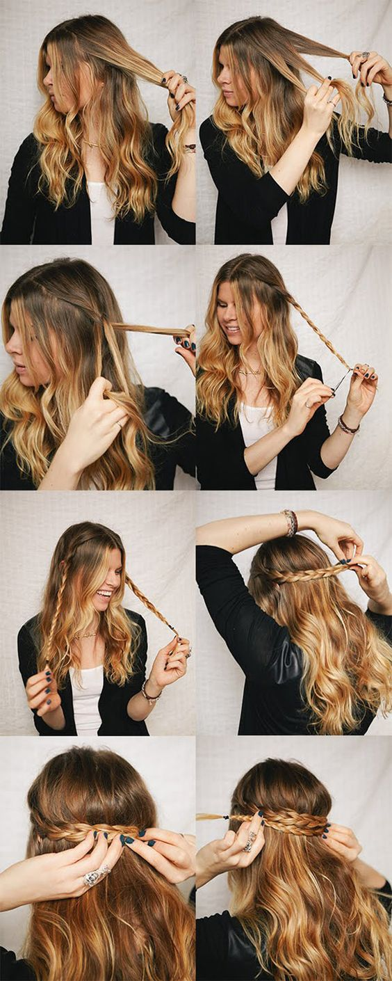 Top 10 Fresh Winter Fall Hair Styles for Women with Picture Tutorials