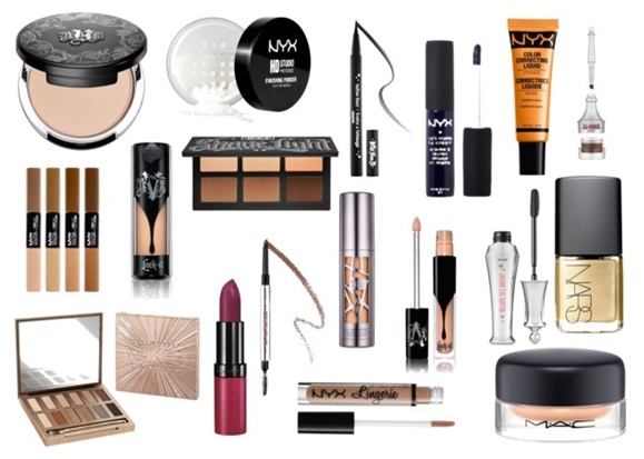 Beauty Wishlist including Kat Von D, Urban Decay, MAC, Nars, NYX