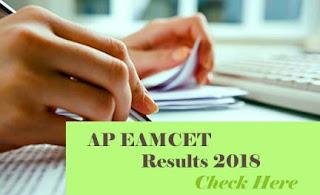 AP EAMCET 2018 Result, EAMCET Results 2018, EAMCET 2018 Results