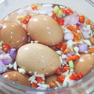 Telur Asin Berbumbu