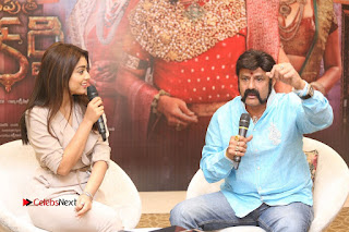 Shriya Saran Nandamuri Balakrishna at Gautamiputra Satakarni Team Press Meet Stills  0177.JPG