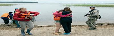 mueren en un lago de Rusia