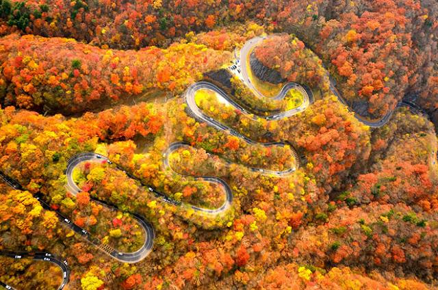 Bạn đã biết đến cung đường đèo nguy hiểm nhất nhưng đầy quyến rũ ở Nhật Bản ?