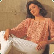 Jersey de Cuadrados de Ganchillo o Crochet