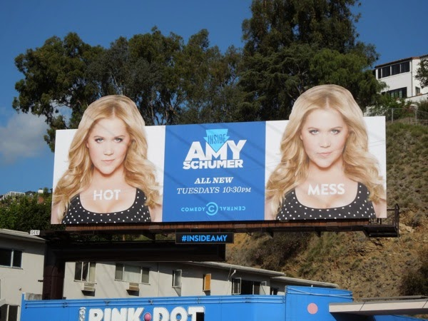 Inside Amy Schumer season 2 billboard