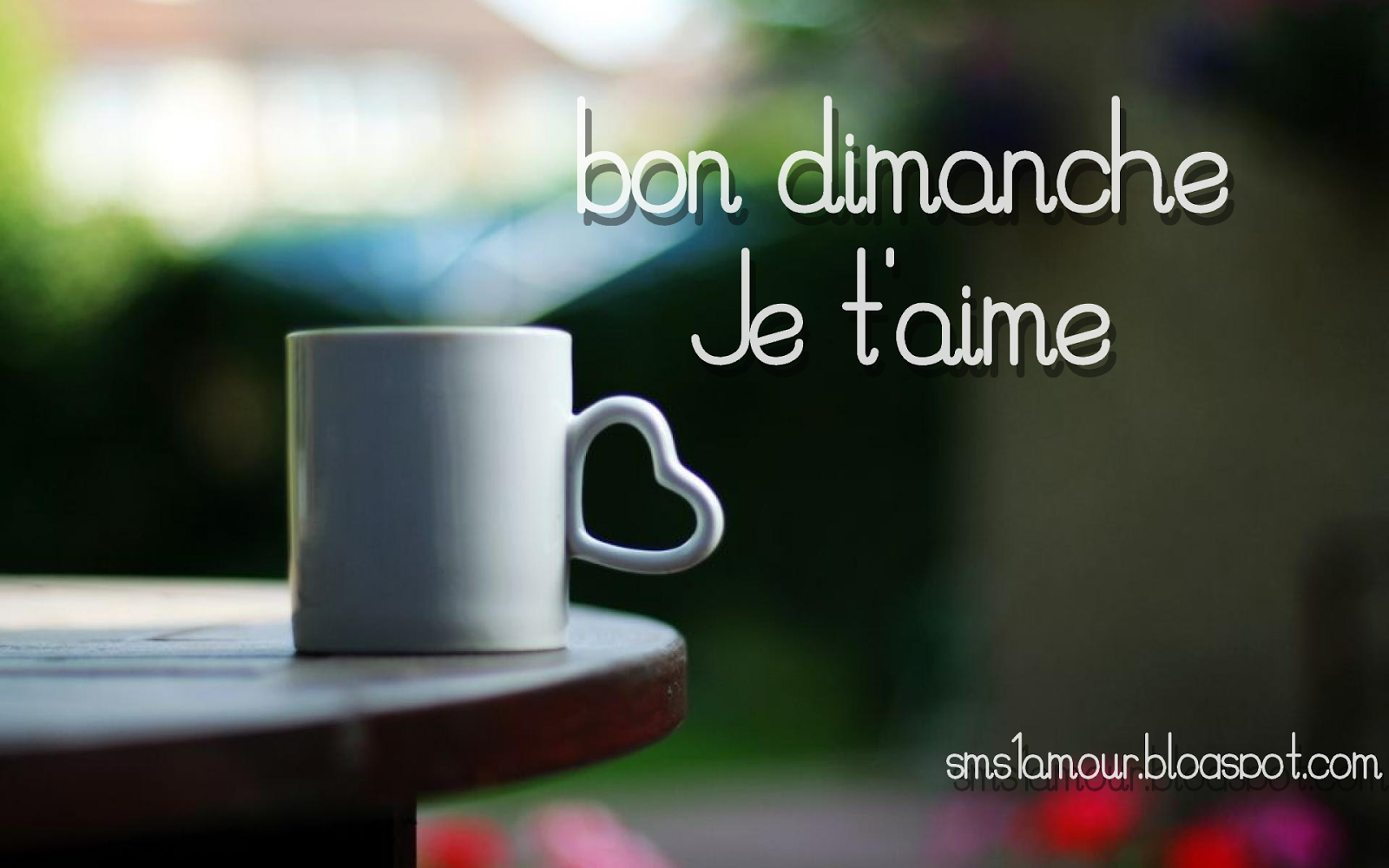 Sms Bon Dimanche Message D Amour Messages Et Sms D Amour