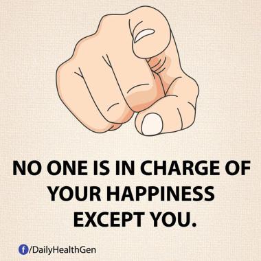 Tidak Ada Seorang pun yang Bertanggung Jawab atas Kebahagiaan Kamu Kecuali Kamu Sendiri (identitas)