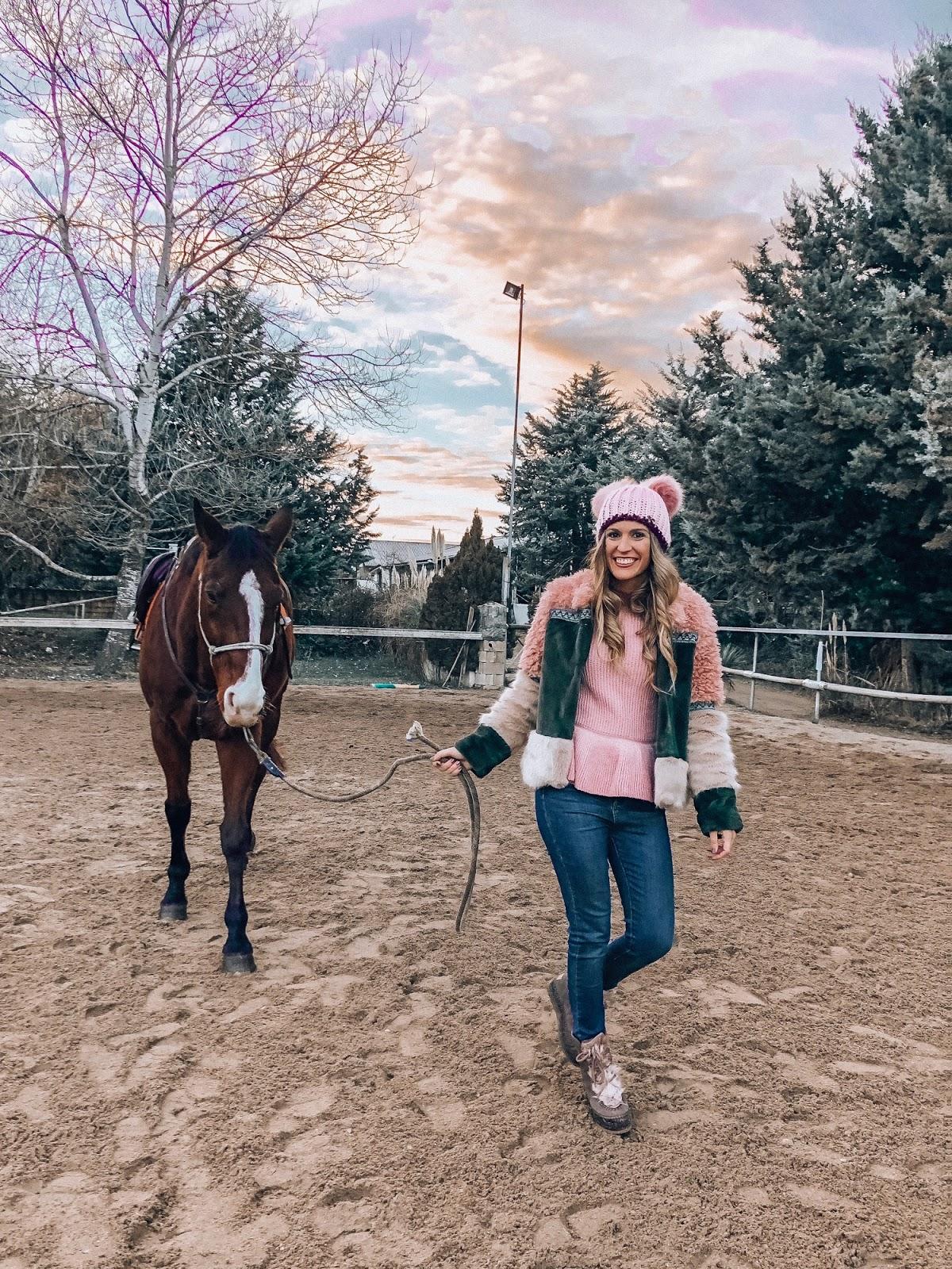 montar a caballo Pamplona