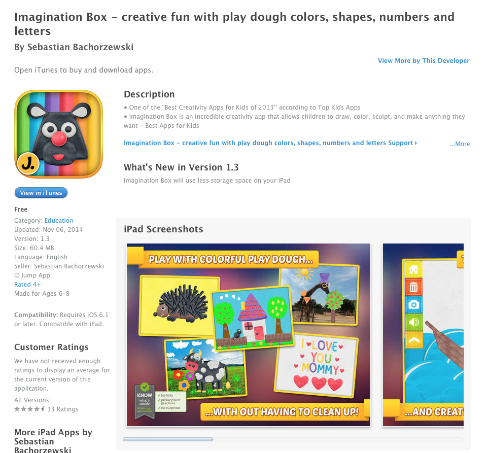 UCET Free iOS App Today: Imagination Box - creative fun with