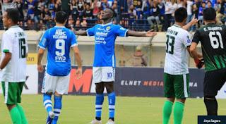 Ezechiel Sudah Kembali, Persib Bandung Tak Ubah Susunan Pemain Lawan Arema FC