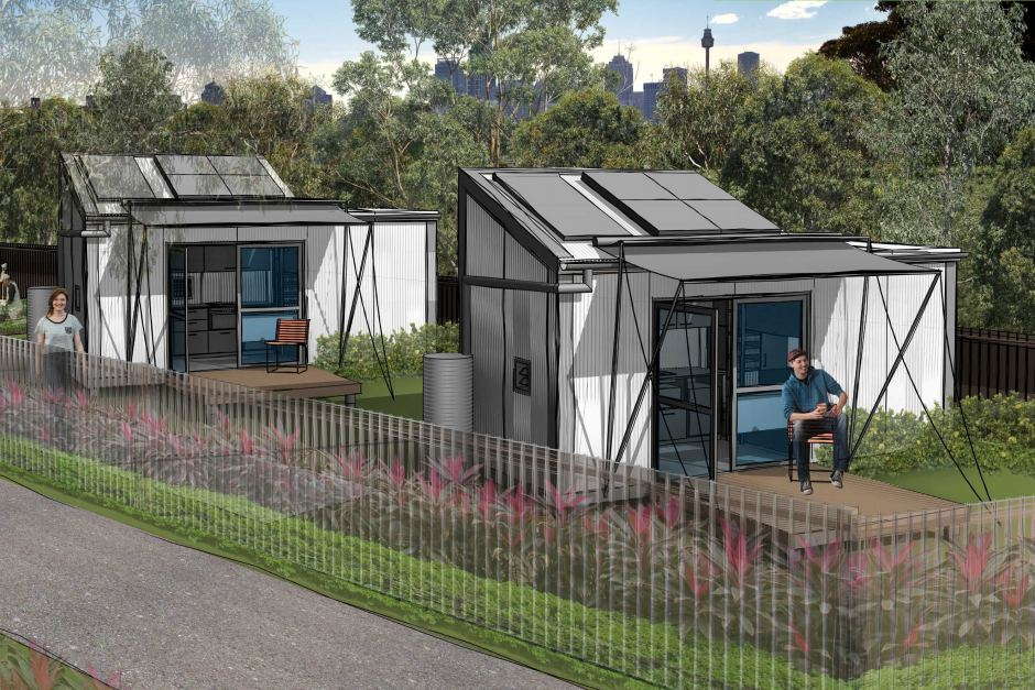 Safegrowth reducing homelessness tiny house villages for Foundation tiny house builders