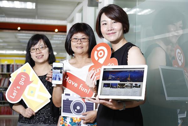 圖說:右一,共同創辦人兼執行長官欣怡,右二,共同創辦人兼財務長王美麗,右三,營運總監張腕玲。攝影:侯俊偉