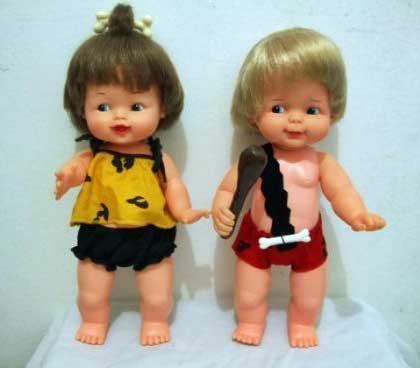 Bam Bam e Pedrita anos 80