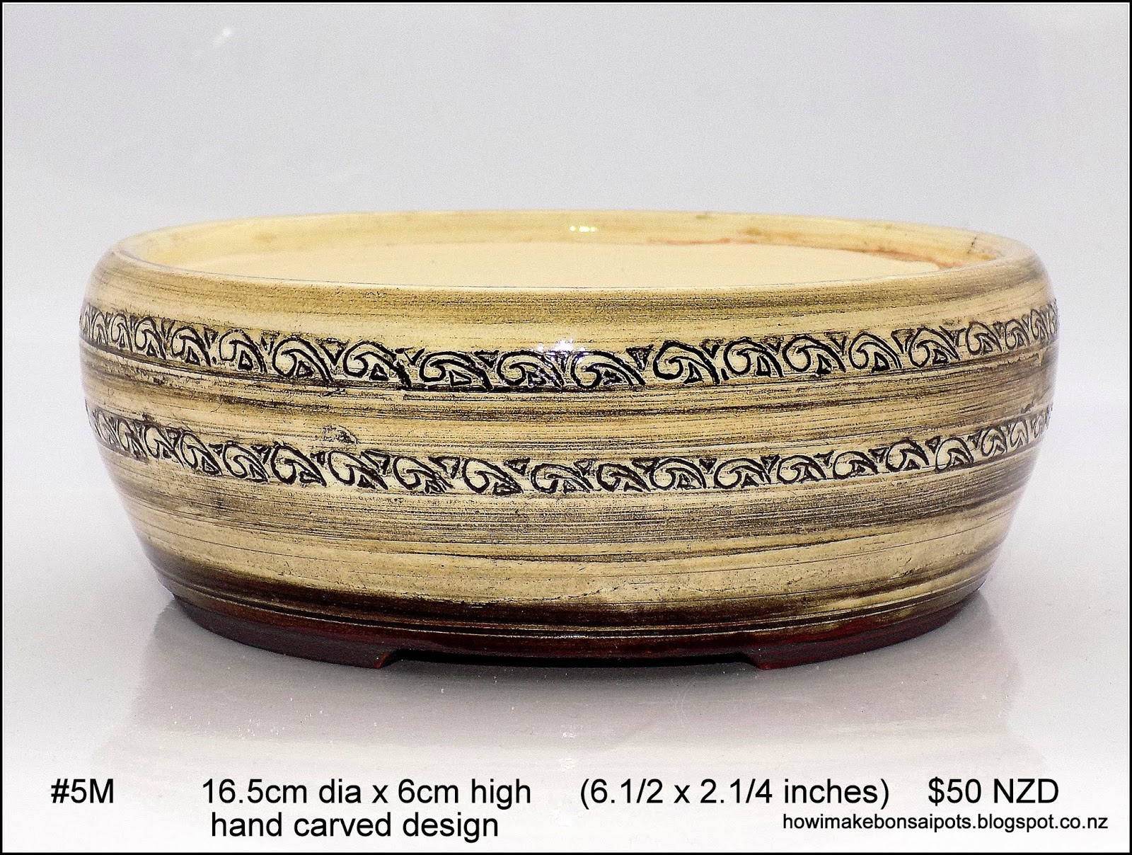 Fionna S Bonsai Pots Kiwi Made In New Zealand