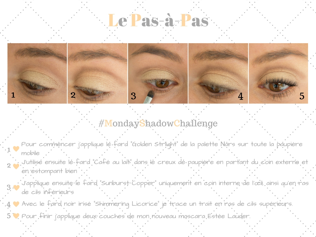 Monday Shadow Challenge : Bride & Champagne