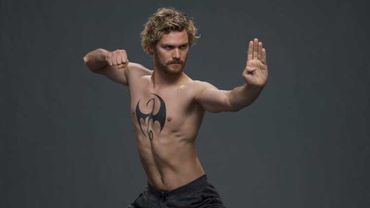 Finn Jones es Daniel Rand / Iron Fist