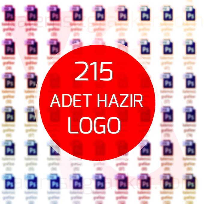 215 Adet Hazır Logo