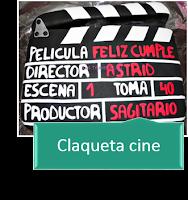 CLAQUETA CINE