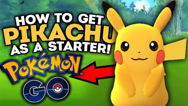 طريقة سهلة للحصول على بيكاتشو في لعبة Pokemon GO