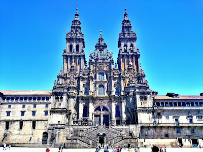 Patrimonio de la Humanidad en Europa y América del Norte. España. Casco antiguo de Santiago de Compostela.