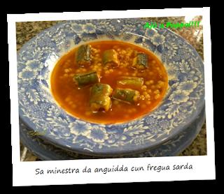 Immagine della ricetta Sa minestra da anguidda cun fregua sarda
