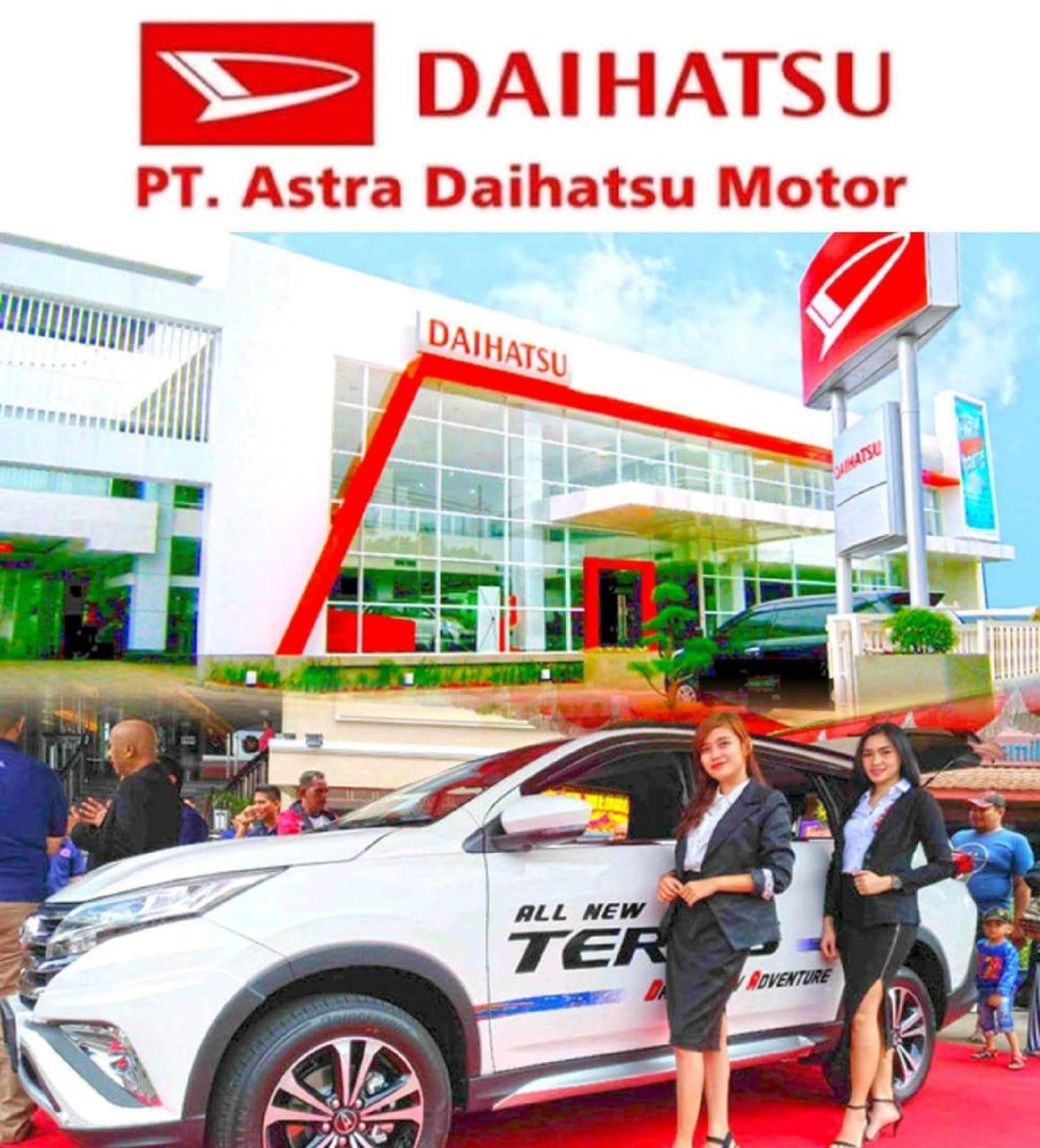 Lowongan Kerja PT. Astra Daihatsu Motor, Jobs: Supervisor, Junior Staff.
