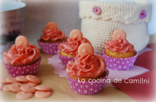 Neapolitan Cupcakes (La cocina de Camilni)