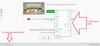 Cara Download Video Youtube dengan Mudah Tanpa software 3