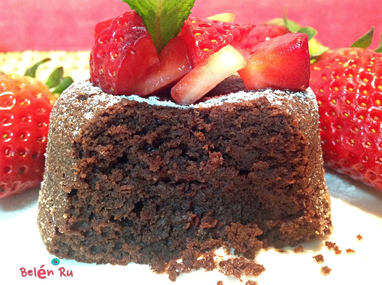 Tiramisú de limón - BelénRu: Brownies mini de chocolate con aceite de coco