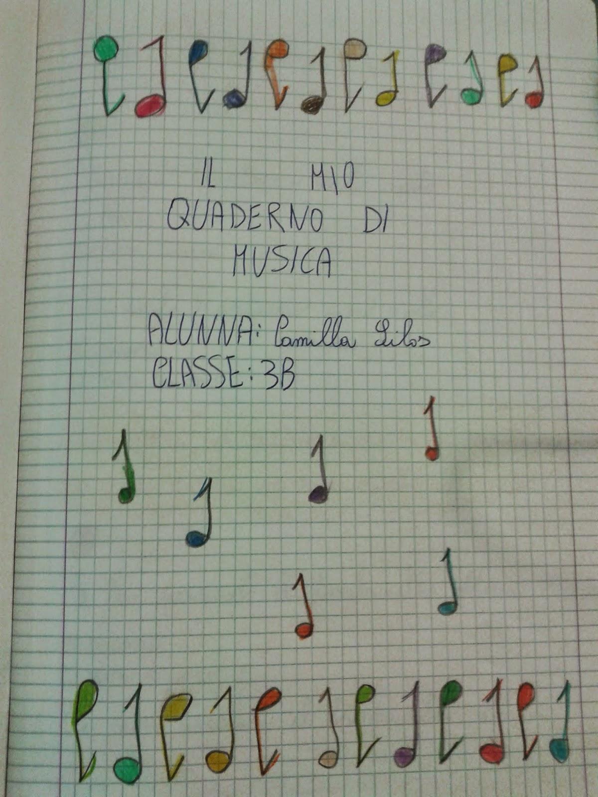 Favorito LA MAESTRA MARIA TI SALUTA: Musica classe terza ZQ58