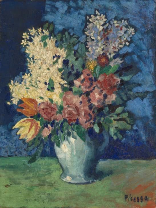 Flores - Picasso e suas pinturas ~ O maior expoente da Arte Moderna