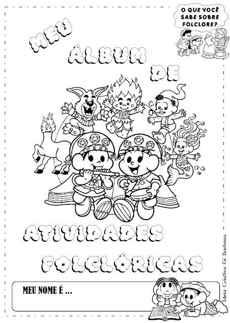 Projeto Folclore Álbum com Atividades Educação Infantil