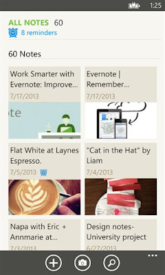Evernote for Windows Phone updated to v4.0 with Speech to text, Multi-shot camera and other features